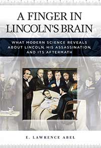 Cover image for A Finger in Lincoln's Brain
