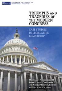 Cover image for Triumphs and Tragedies of the Modern Congress