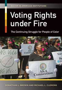 Voting Rights under Fire cover image