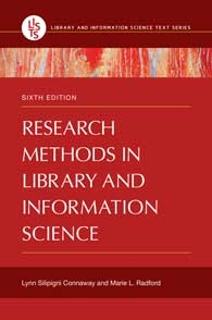 Research Methods in Library and Information Science, 6th Edition cover image