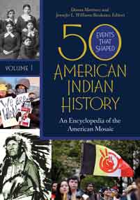 Cover image for 50 Events That Shaped American Indian History