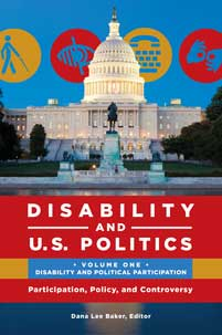 Cover image for Disability and U.S. Politics