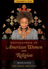 Cover image for Encyclopedia of American Women and Religion