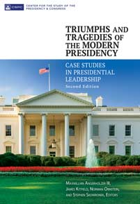 Cover image for Triumphs and Tragedies of the Modern Presidency