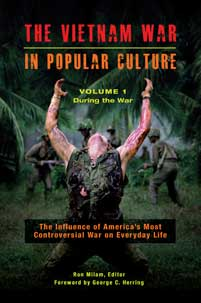 Cover image for The Vietnam War in Popular Culture