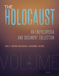 Cover image for The Holocaust