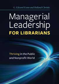 Cover image for Managerial Leadership for Librarians