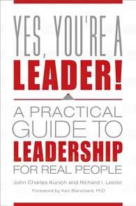 Yes, You're a Leader! cover image