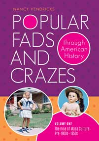 Cover image for Popular Fads and Crazes through American History