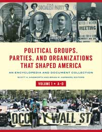Cover image for Political Groups, Parties, and Organizations That Shaped America