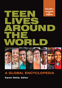 Cover image for Teen Lives around the World