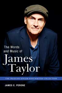 Cover image for The Words and Music of James Taylor