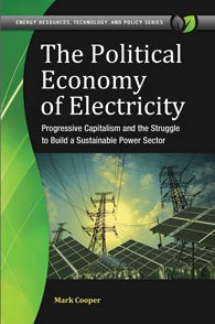 Cover image for The Political Economy of Electricity