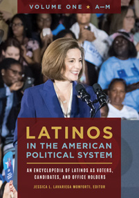 Cover image for Latinos in the American Political System