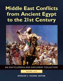 Cover image for Middle East Conflicts from Ancient Egypt to the 21st Century