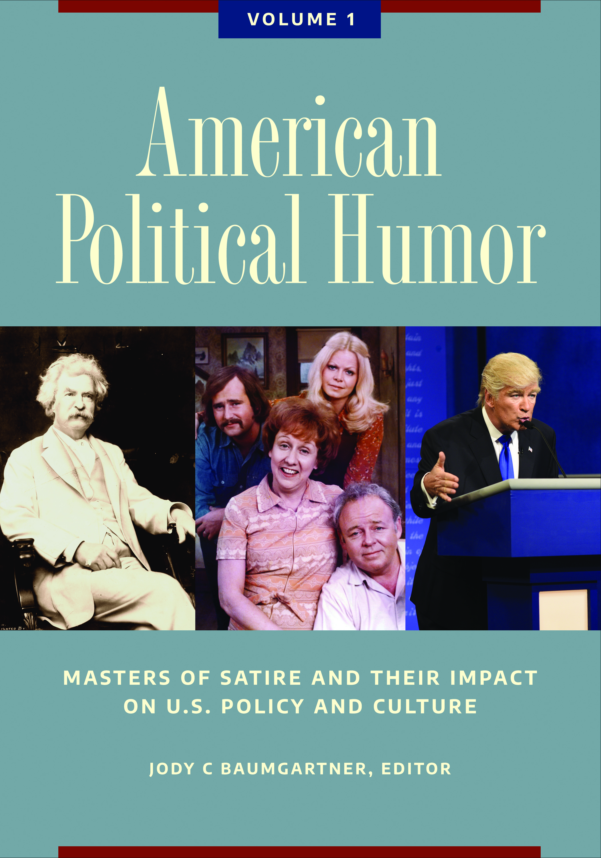 Cover image for American Political Humor