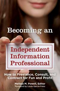 Cover image for Becoming an Independent Information Professional
