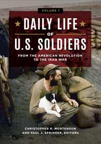 Cover image for Daily Life of U.S. Soldiers