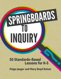Cover image for Springboards to Inquiry