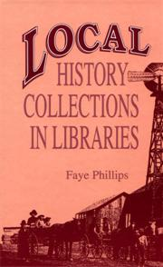 Local History Collections in Libraries cover image