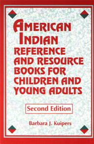 American Indian Reference and Resource Books for Children and Young Adults cover image