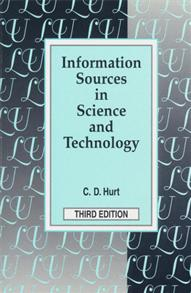 Information Sources in Science and Technology, 3rd Edition cover image