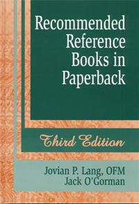 Recommended Reference Books in Paperback cover image