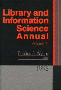 Library and Information Science Annual cover image