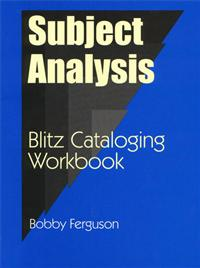 Subject Analysis cover image