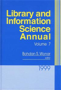 Cover image for Library and Information Science Annual