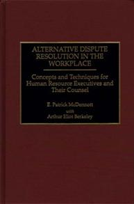 Alternative Dispute Resolution in the Workplace cover image