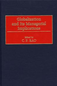 Cover image for Globalization and Its Managerial Implications