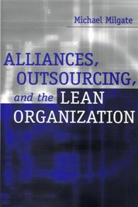 Alliances, Outsourcing, and the Lean Organization cover image
