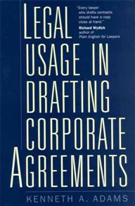 Legal Usage in Drafting Corporate Agreements cover image
