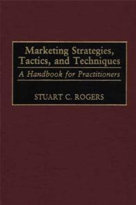 Marketing Strategies, Tactics, and Techniques cover image