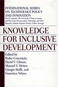 Knowledge for Inclusive Development cover image