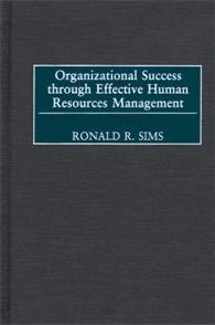 Organizational Success through Effective Human Resources Management cover image