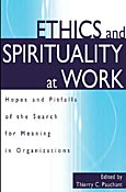 Ethics and Spirituality at Work cover image