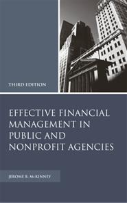 Effective Financial Management in Public and Nonprofit Agencies, 3rd Edition cover image
