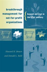 Breakthrough Management for Not-for-Profit Organizations cover image