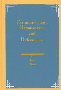 Communication, Organization, and Performance cover image