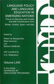 Language Policy and Language Education in Emerging Nations cover image