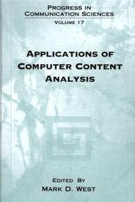 Applications of Computer Content Analysis cover image