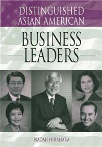 Cover image for Distinguished Asian American Business Leaders