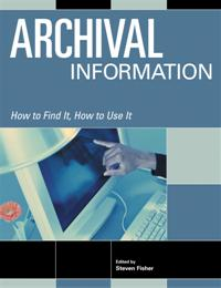 Archival Information cover image