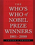 The Who's Who of Nobel Prize Winners, 1901-2000, 4th Edition cover image
