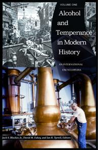 Cover image for Alcohol and Temperance in Modern History