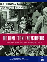 Cover image for The Home Front Encyclopedia