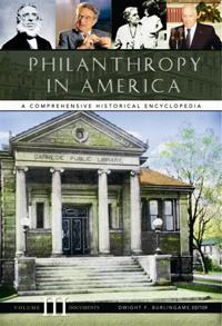 Cover image for Philanthropy in America