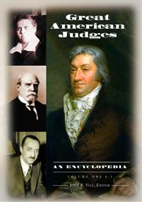 Great American Judges cover image